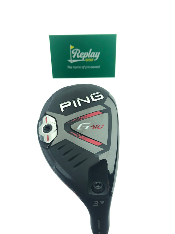 Ping G410 3 Hybrid / 19 Degrees / Tour Chrome 85 Stiff Flex