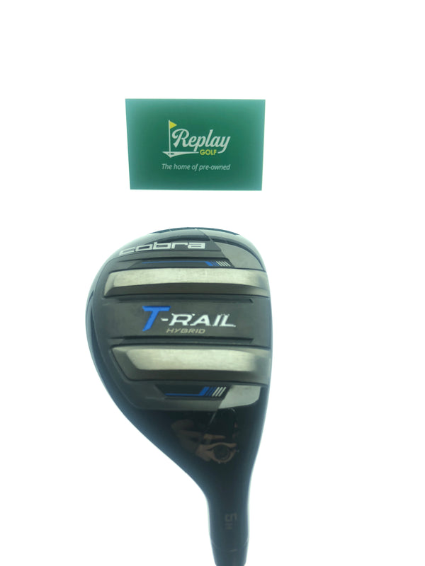 Cobra T-Rail 2019 5 Hybrid / 24 Degrees / Ultra Lite 50 Regular Flex - Replay Golf