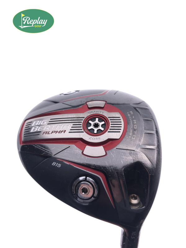 Callaway Big Bertha Alpha 815 Driver / 10.5 Degree / Fujikura Speeder Regular Flex - Replay Golf
