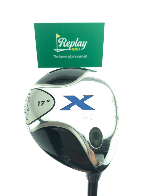 Callaway X 4 Fairway Wood / 17 Degrees / Fujikura 65g Stiff Flex - Replay Golf