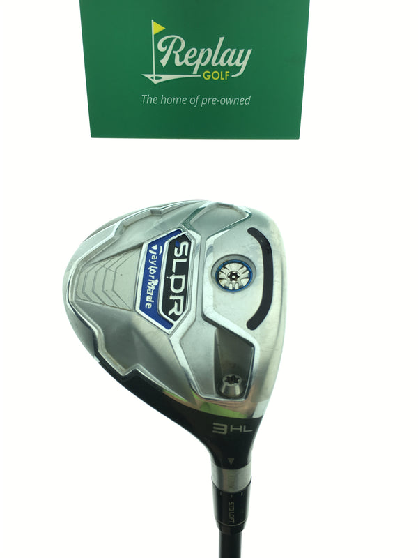 TaylorMade SLDR 3  HL Fairway Wood / 17 Degree / Matrix Ozik Rocketfuel 80 S Flex - Replay Golf