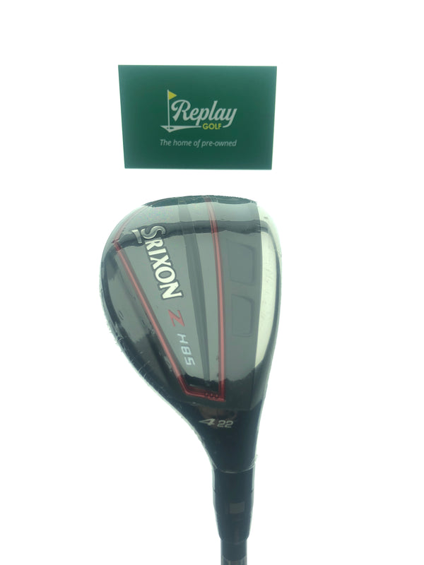 NEW Srixon ZH85 4 Hybrid / 22 Degrees / Project X Hzrdus Black 5.5 Regular Flex - Replay Golf
