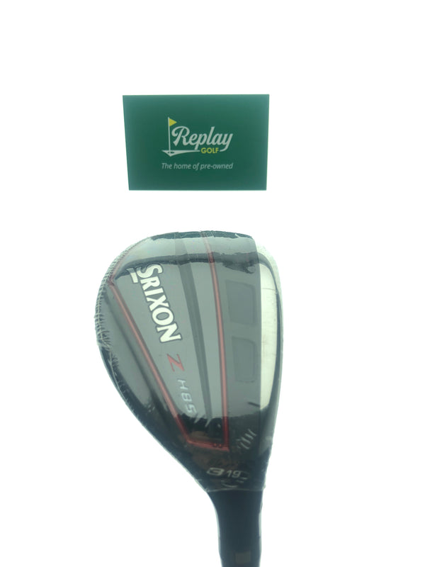 NEW Srixon ZH85 3 Hybrid / 19 Degrees / Project X Hzrdus Black 6.0 85g Stiff Flex - Replay Golf