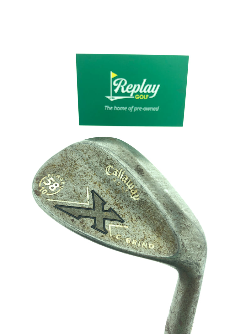 Callaway Forged X series Lob Wedge / 58 Degrees / Wedge Flex - Replay Golf