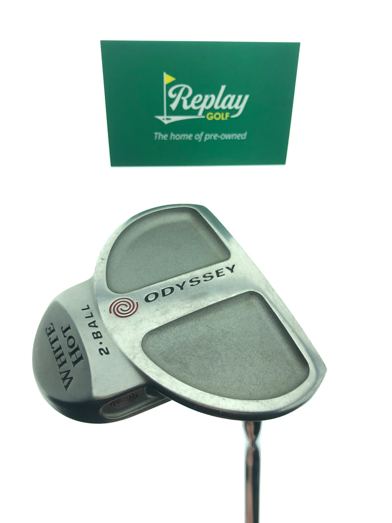 Odyssey White Hot 2-Ball Putter / 34 Inches - Replay Golf