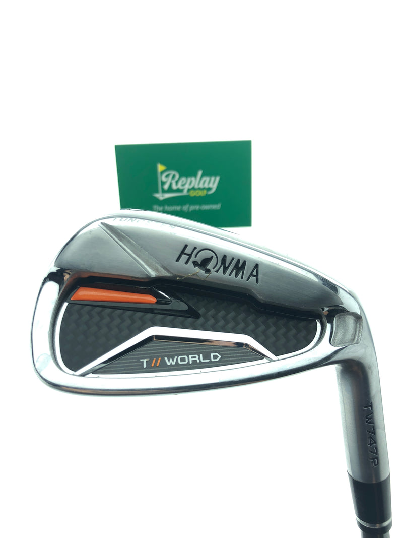Honma TW747 P 10 Wedge / 43.5 Degrees / Vizard For TW747 Regular Flex - Replay Golf
