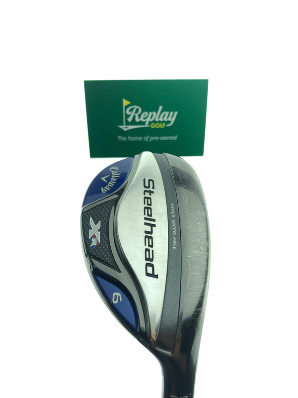 Callaway Steelhead XR 6 Hybrid / 28 Degrees / Recoil ES F2 Senior Flex - Replay Golf