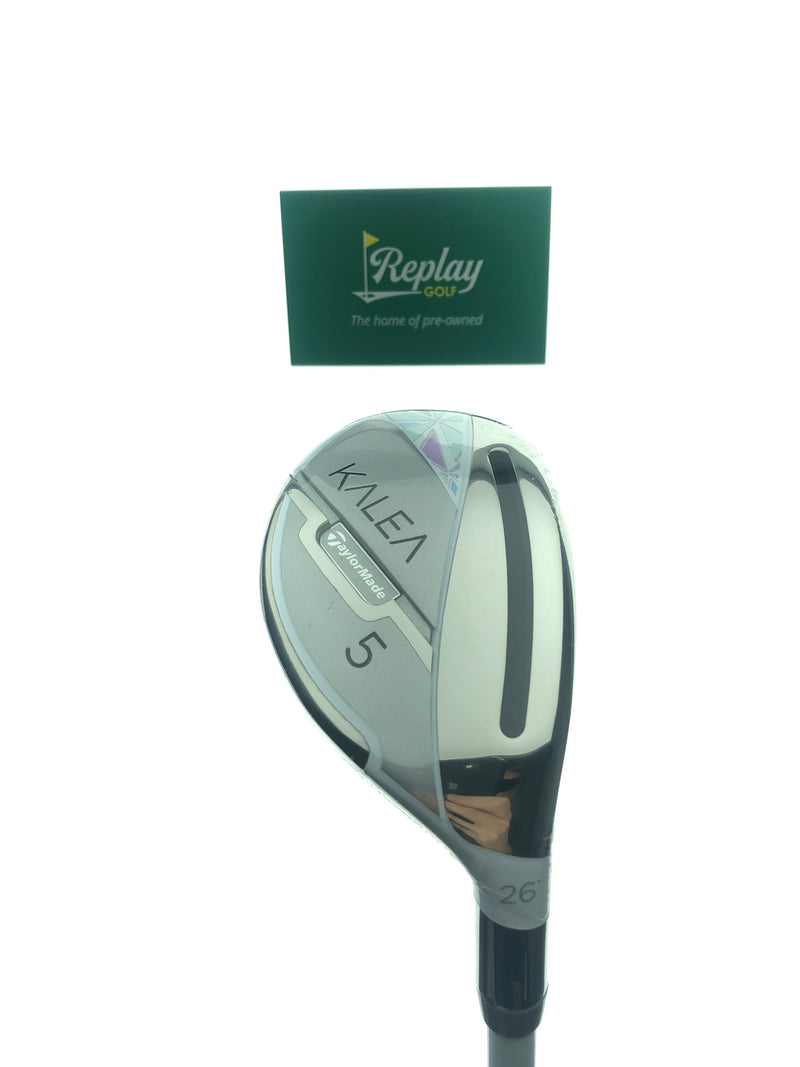NEW TaylorMade Kalea 2020 5 Hybrid / 26 Degrees / Ultralite 45 Ladies Flex - Replay Golf