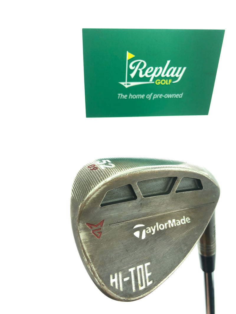 TaylorMade Milled Grind HI-TOE Gap Wedge / 52 Degrees / Dynamic Gold Regular Flex - Replay Golf
