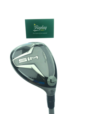 NEW TaylorMade SIM Max Women's 5 Hybrid / 25 Degree / Aldila NV 45 Ladies Flex - Replay Golf