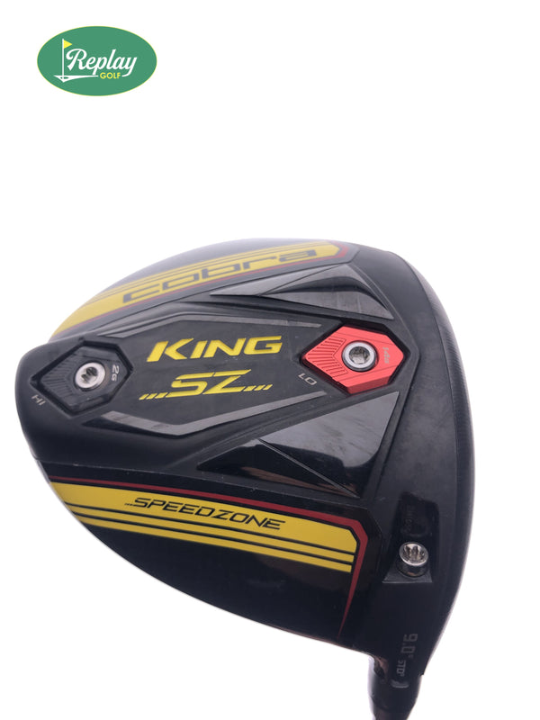 Cobra King Speedzone Driver / 9.0 Degrees / Tensei AV Blue 65 Stiff Flex