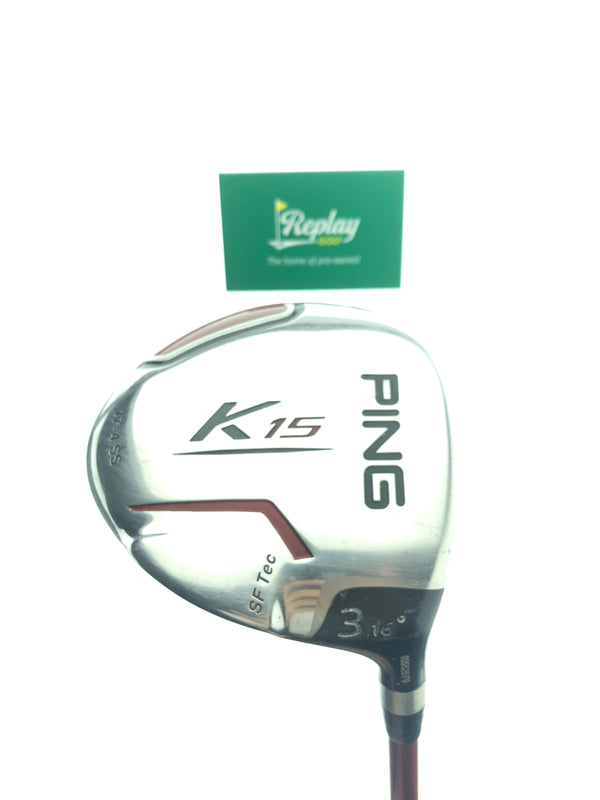 Ping K15 3 Fairway Wood / 16 Degrees / Ping TFC 149 Regular Flex