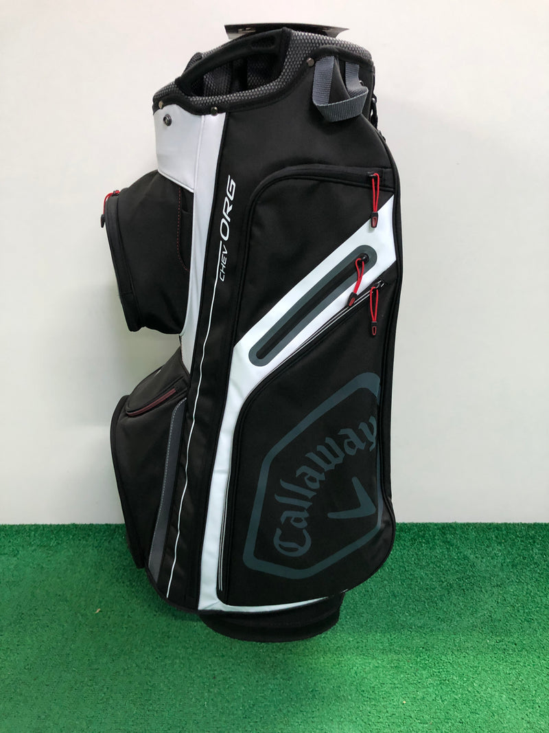 NEW Callaway Chev Org Cart Bag / 14 Way Divider - Replay Golf