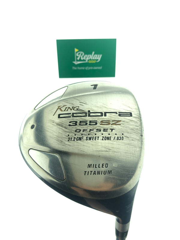 Cobra Ladies 355 SZ Offset Driver / 12.0 Degrees / Ladies Flex - Replay Golf
