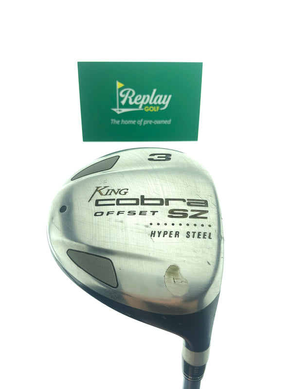 Cobra Ladies SZ Offset 3 Fairway Wood / 15 Degrees / Ladies Flex - Replay Golf