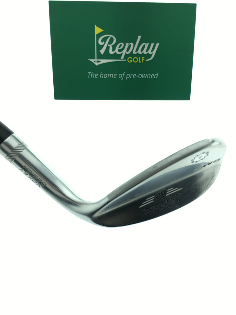 Titleist Vokey SM6 Tour Chrome Sand Wedge / 56 Degree / Titleist Steel Wedge Flex - Replay Golf