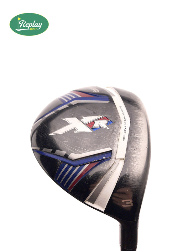 Callaway XR 3 Fairway Wood / 13 Degrees / Project X San Diego Stiff Flex - Replay Golf