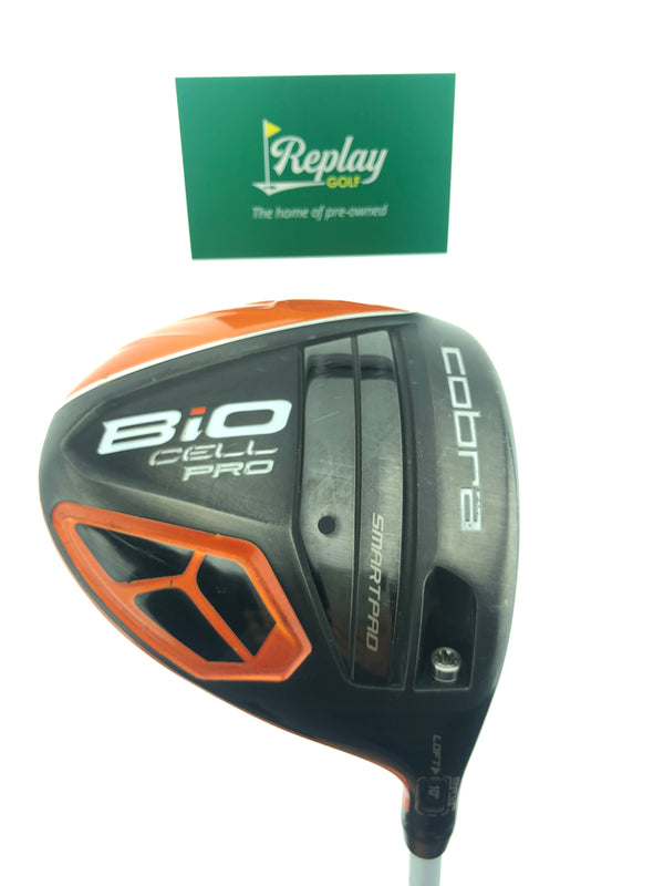Cobra Bio Cell Pro Orange Driver / 10.0 Degrees / Matrix Red Tie Stiff Flex