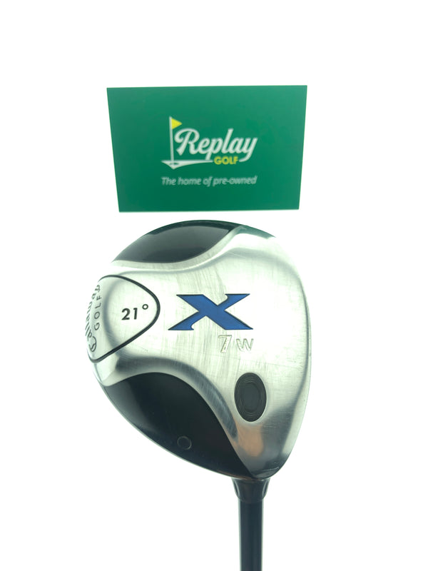 Callaway X Fairway 7 Wood / 21 Degrees / Fujikura Lite Flex