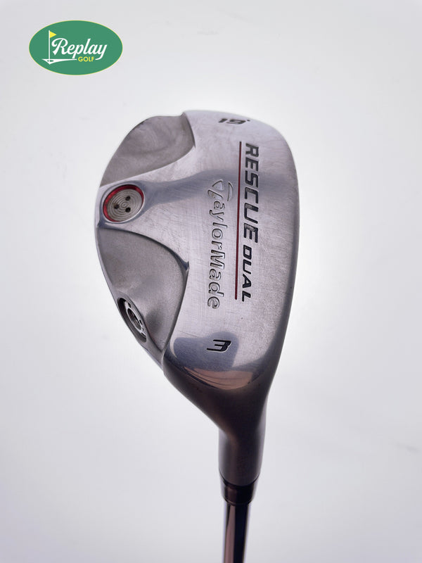 TaylorMade Rescue Dual 3 Hybrid / 19 Degrees / TaylorMade Regular Flex - Replay Golf