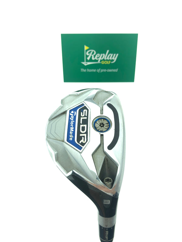 TaylorMade SLDR 3 Hybrid / 19 Degrees / Fujikura Speeder 82h Regular Flex