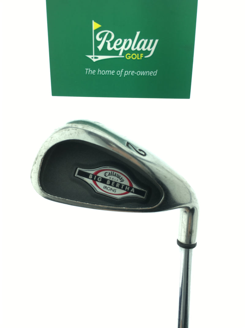 Callaway 2002 Big Bertha 2 Iron / 18.0 Degrees / Precision Rifle  X-Stiff Flex - Replay Golf