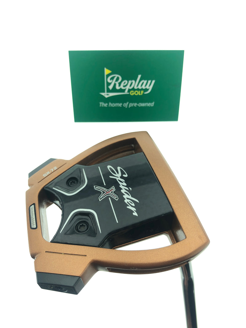TaylorMade Spider X Copper Putter / 33.5 Inches - Replay Golf