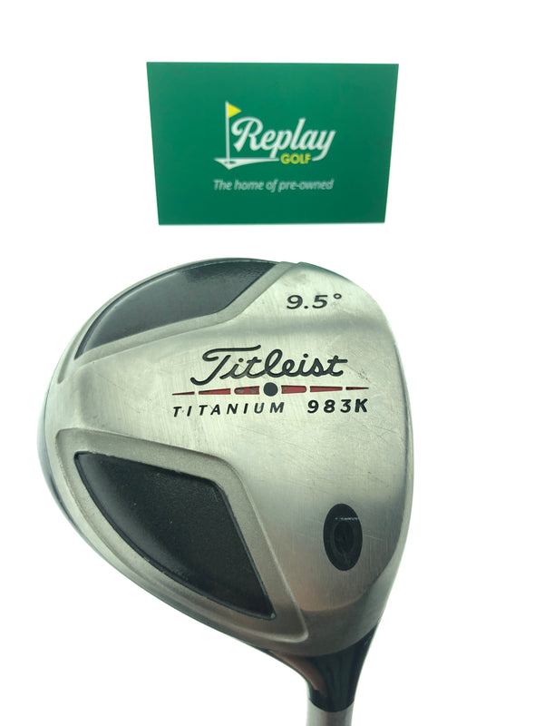 Titleist 983 K Driver / 9.5 Degrees / Grafalloy ProLite Stiff Flex - Replay Golf