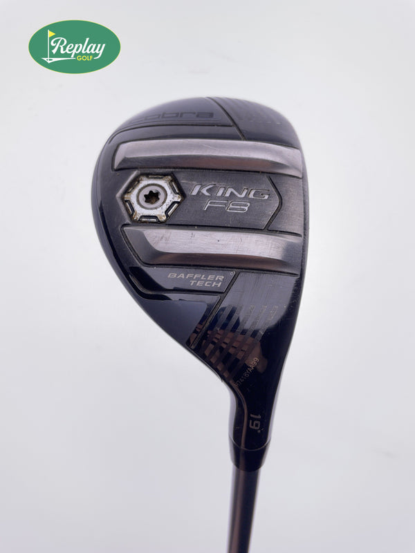 Cobra King F8 3 Hybrid / 19 Degrees / Aldila Rogue Pro 75 Stiff Flex - Replay Golf