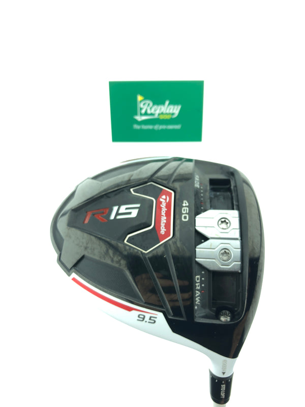TaylorMade R15 Driver / 9.5 Degrees / Fujikura Speeder 565 Regular Flex - Replay Golf