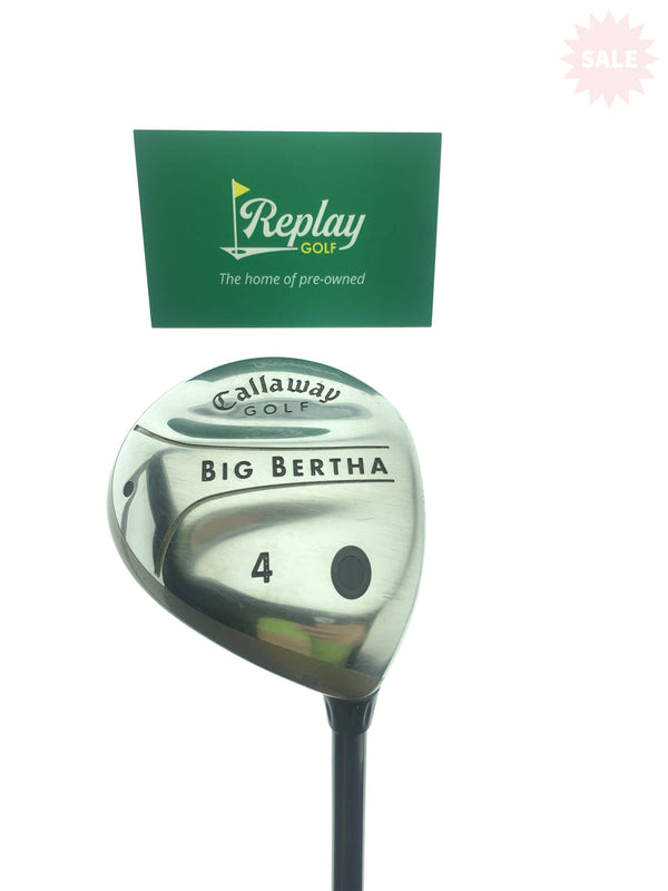 Callaway 2004 Big Bertha 4 Fairway Wood / 17 Degrees / Ladies Flex - Replay Golf