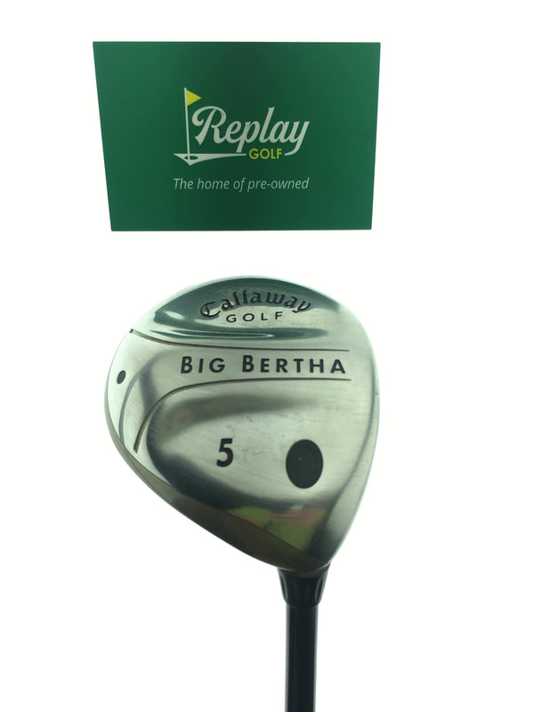 Callaway 2004 Big Bertha 5 Fairway Wood / 18 Degree / Big Bertha Gems 55 L Flex - Replay Golf