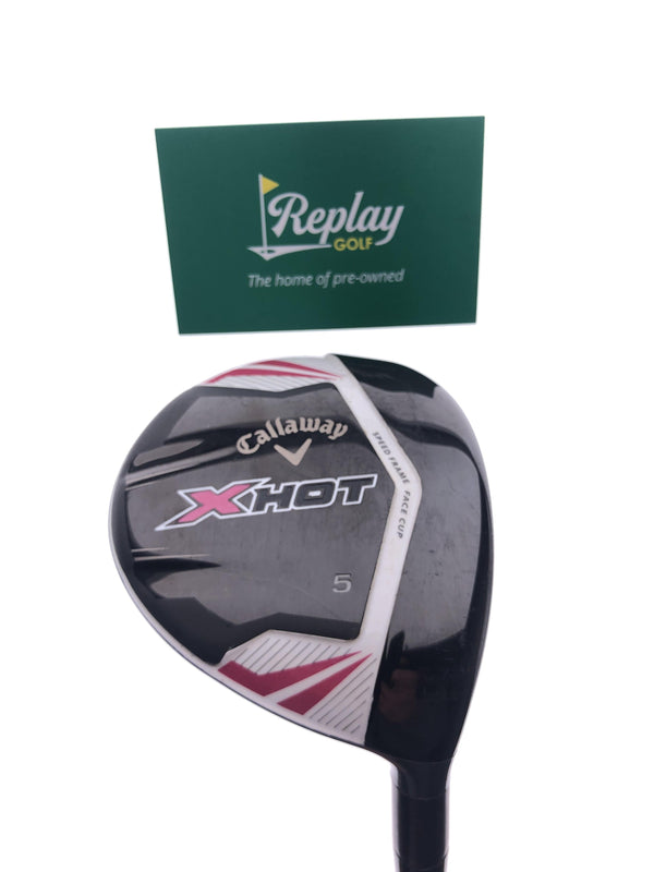 Callaway 2013 X Hot Womens 5 Fairway Wood / 18 Degrees / Ladies Flex - Replay Golf