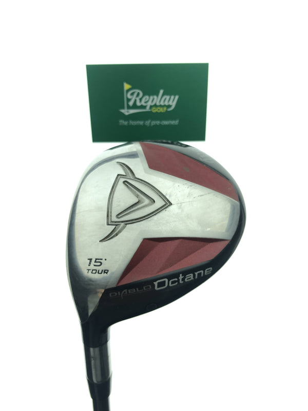 Callaway Diablo Octane Tour 3 Fairway Wood / 15 Degrees / Stiff Flex / LEFT Hand - Replay Golf
