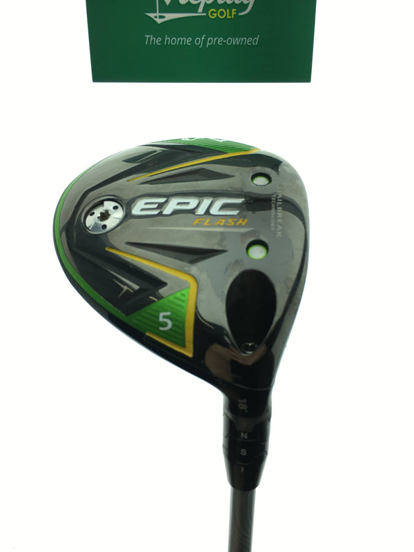 Callaway EPIC Flash 5 Fairway Wood / 18 Degree / Project X EvenFlow 5.5 65g Reg - Replay Golf