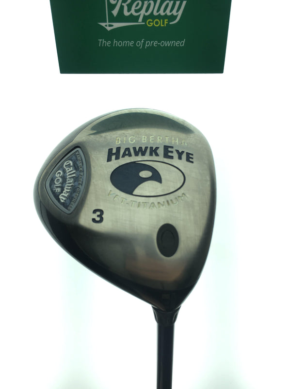Callaway Hawkeye VFT 3 Fairway Wood / 15 Degrees / Graphite Ladies Flex - Replay Golf