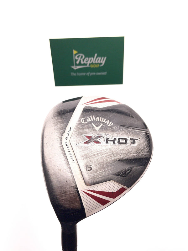 Callaway X Hot 2013 5 Fairway Wood / 18 Degrees / Project X PXv A-Flex / Left Hand - Replay Golf