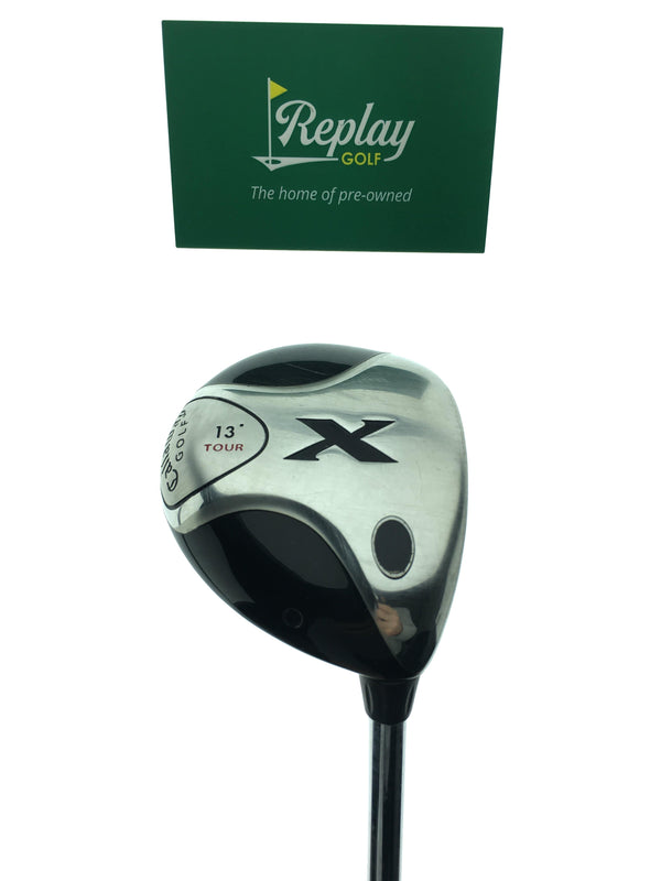 Callaway X Tour Strong 3 Fairway Wood / 13 Degrees / Callaway Steel Uniflex - Replay Golf