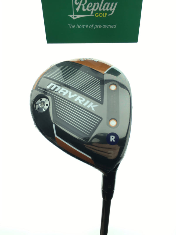 NEW Callaway Mavrik 3 Fairway Wood / 15 Degrees / Project X Riptide Regular Flex - Replay Golf