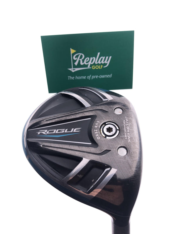 TOUR ISSUE Callaway Rogue Sub Zero 3 Wood / 13.5 Degree / Fujikura Speeder Stiff - Replay Golf