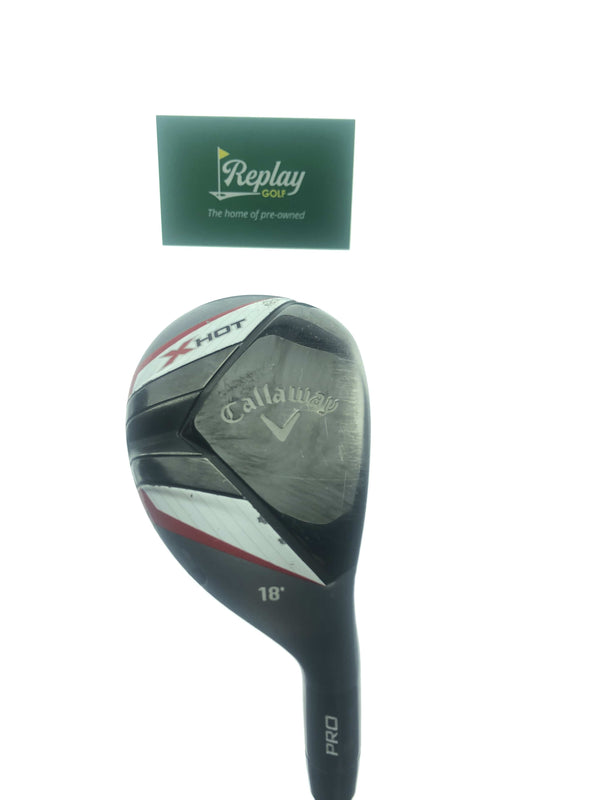 Callaway 2013 X Hot Pro 2 Hybrid / 18 Degrees / Project X PXv 6.0 Stiff Flex - Replay Golf