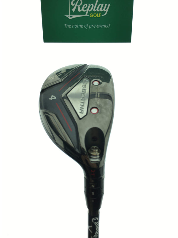 Callaway 2019 Big Bertha 4 Hybrid / 21 Degrees / UST Recoil 460 Regular Flex - Replay Golf