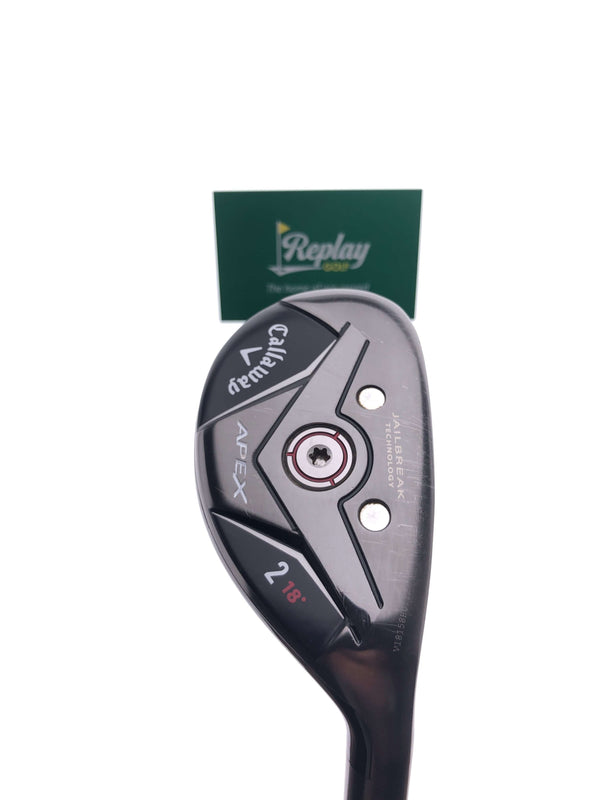 Callaway Apex 19 2 Hybrid / 18 Degrees / Project X Catalyst 6.0 Stiff Flex - Replay Golf
