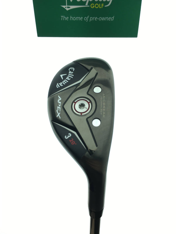 Callaway Apex 19 3 Hybrid / 20 Degrees / Project X Catalyst 70 Regular Flex - Replay Golf
