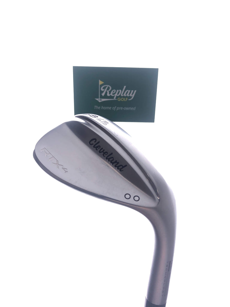 Cleveland RTX 4 Tour Satin Lob Wedge / 58 Degrees / DynamicGold Tour Issue Stiff Flex - Replay Golf