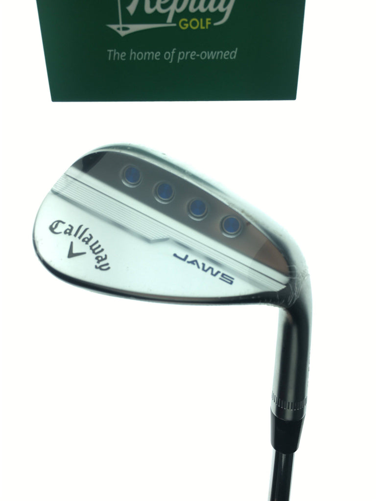 NEW Callaway Jaws MD5 Chrome Sand Wedge / 54 Degree / DG Tour Issue Stiff - Replay Golf