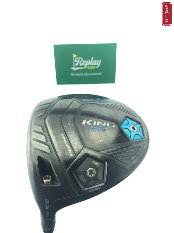 Cobra King F8 Driver / 12.5 Degrees / AlDILA NV 50 Ladies Flex / LEFT HAND - Replay Golf