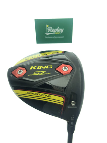 Cobra King Speedzone Driver / 10.5 Degrees / Project X HZRDUS Smoke Stiff Flex - Replay Golf