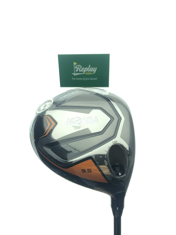 NEW Honma TW747 455 Driver / 9.5 Degrees / Vizard For TW747 50 S Stiff Flex - Replay Golf
