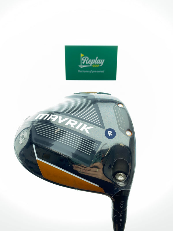 NEW Callaway Mavrik Driver / 10.5 Degrees / Even Flow Riptide 5.5 Regular Flex - Replay Golf